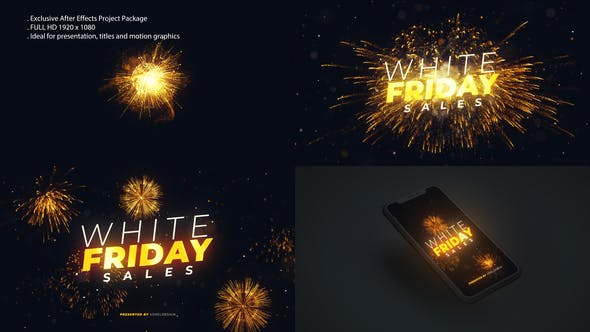 Videohive White Friday Sales Opener29405202