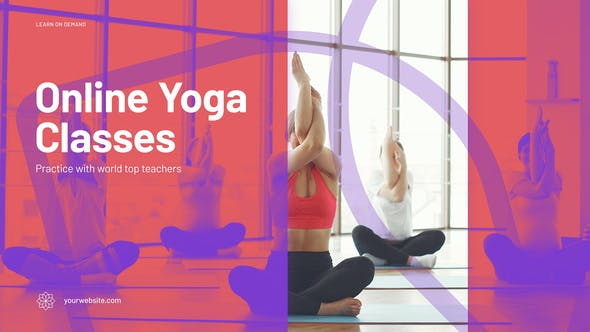 Videohive Online Yoga Promo 29408252