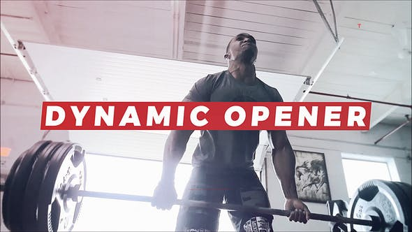 Videohive Gym Opener | Sport Promo | Fitness and Workout | Motivation Intro 23008880