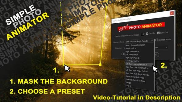 Videohive Simple Photo Animator 26668218