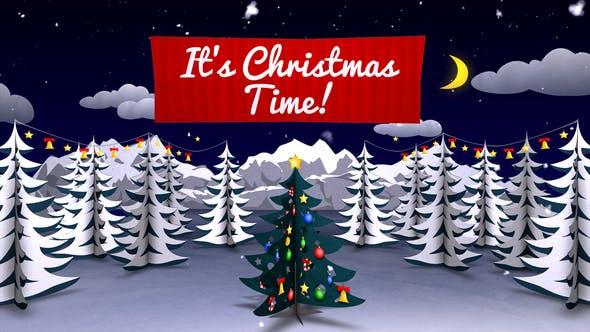 Videohive Christmas Card 2 13750397