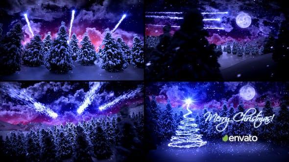 Videohive Christmas Card 9689824