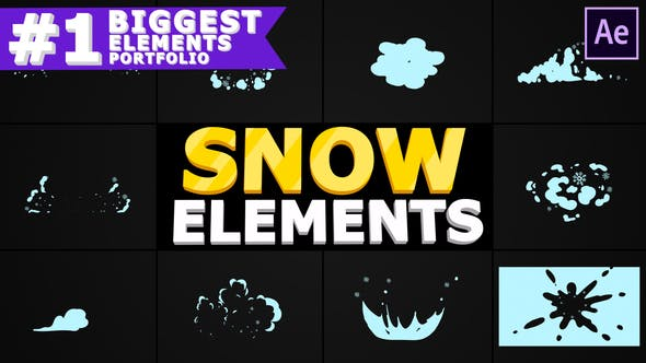 Videohive Snow Blasts | After Effects 29609151