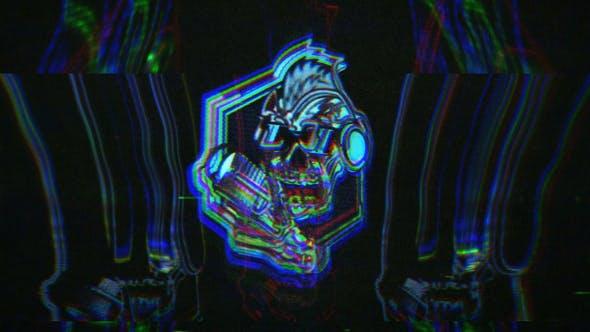 Videohive - Glitch Ghost Logo - 29627065