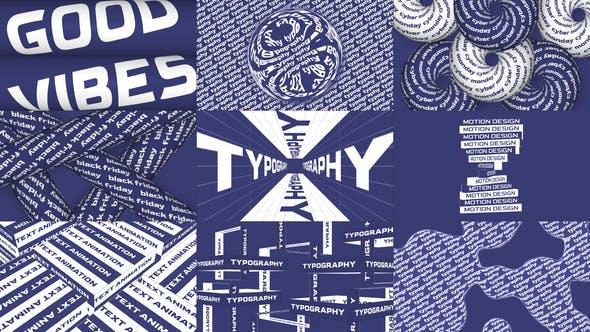 Videohive Creative Typography 29323798