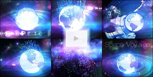 Videohive Space Voyager 490719