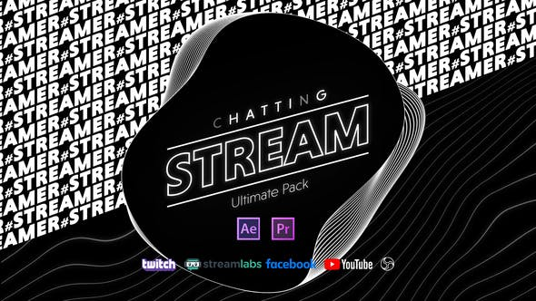 Videohive - Stream Chatting Pack - 28982239