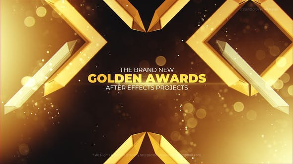 VideoHive Gold Awards Opener 29573176