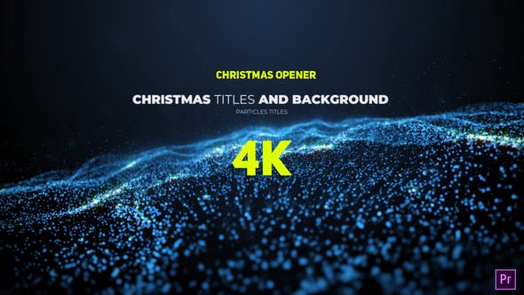 Videohive - Particle Christmas - 29621975