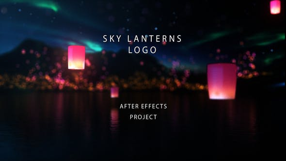 Videohive Sky Lanterns Logo 29692881
