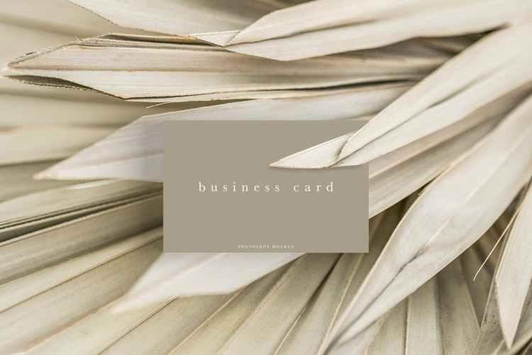 Business Card Mockup #26 SLR79KS