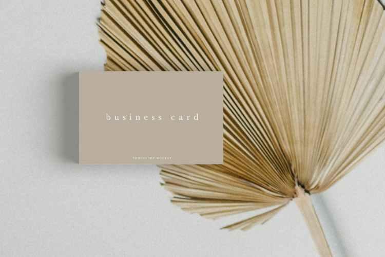 Business Card Mockup #10 R9V2ZA6