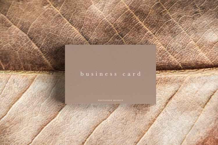 Business Card Mockup #54 RAFKX92