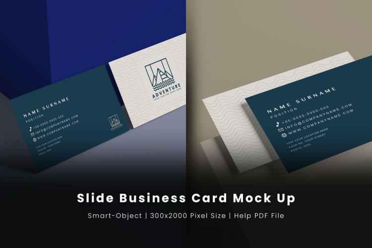 Business Card Mockup 4GSPWNP