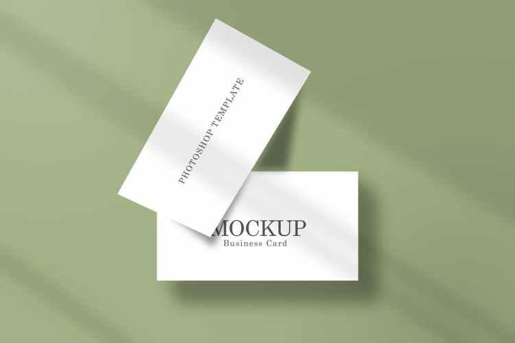 Business Card Mockup LFGNMXV