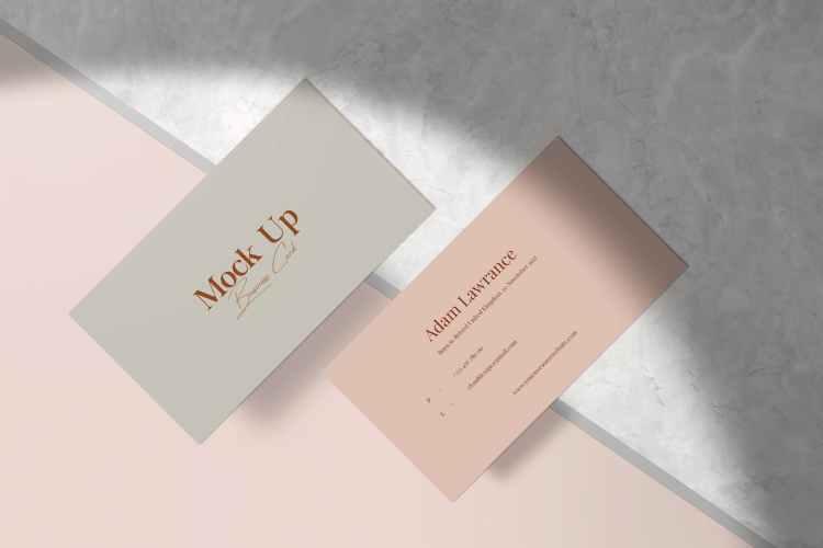 Business Card Mockup 7MXQTAM