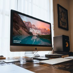 Mac Desktop Mockup