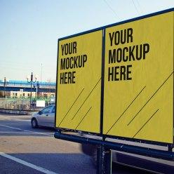 Free Advertising MockUp