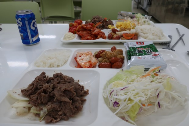 Traditional Korean lunch