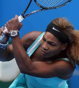 Glad I got to see Serena Williams play before she had to pull out.