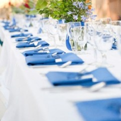 Chiavari Chairs China Skyline Accent Chair Royal Blue Cotton Blend – Ps Event Rentals