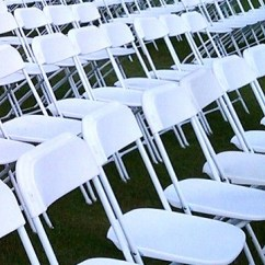 White Round Kitchen Table And Chairs Lifetime Plastic Philippines Folding Chair – Ps Event Rentals