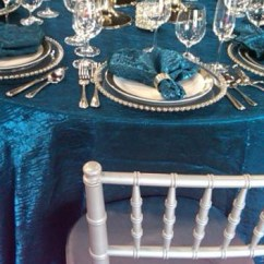 Round Glass Kitchen Tables Rustic Art Turquoise Crush – Ps Event Rentals