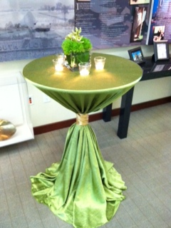 Green Apple Matte Satin  PS Event Rentals