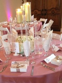 Dusty Rose Cotton Blend  PS Event Rentals