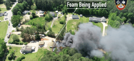 Garage Structure Fire – Public Safety UAS Flight Debrief with Lessons Learned