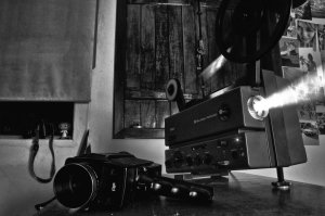 film camera and projector