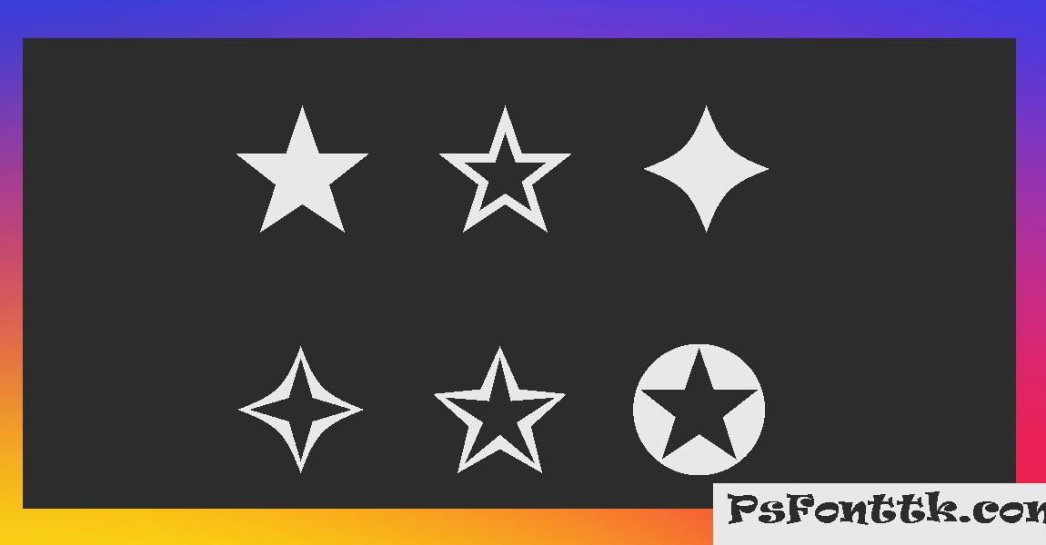 Estrelas para copiar