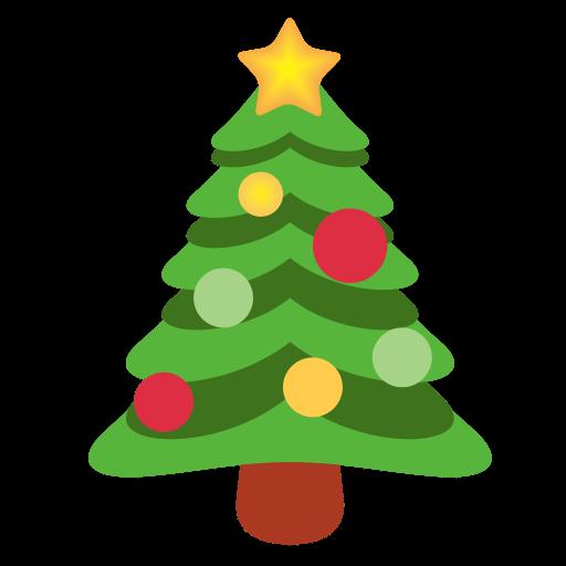 🎄 Emoji Árvore de Natal PNG para baixar