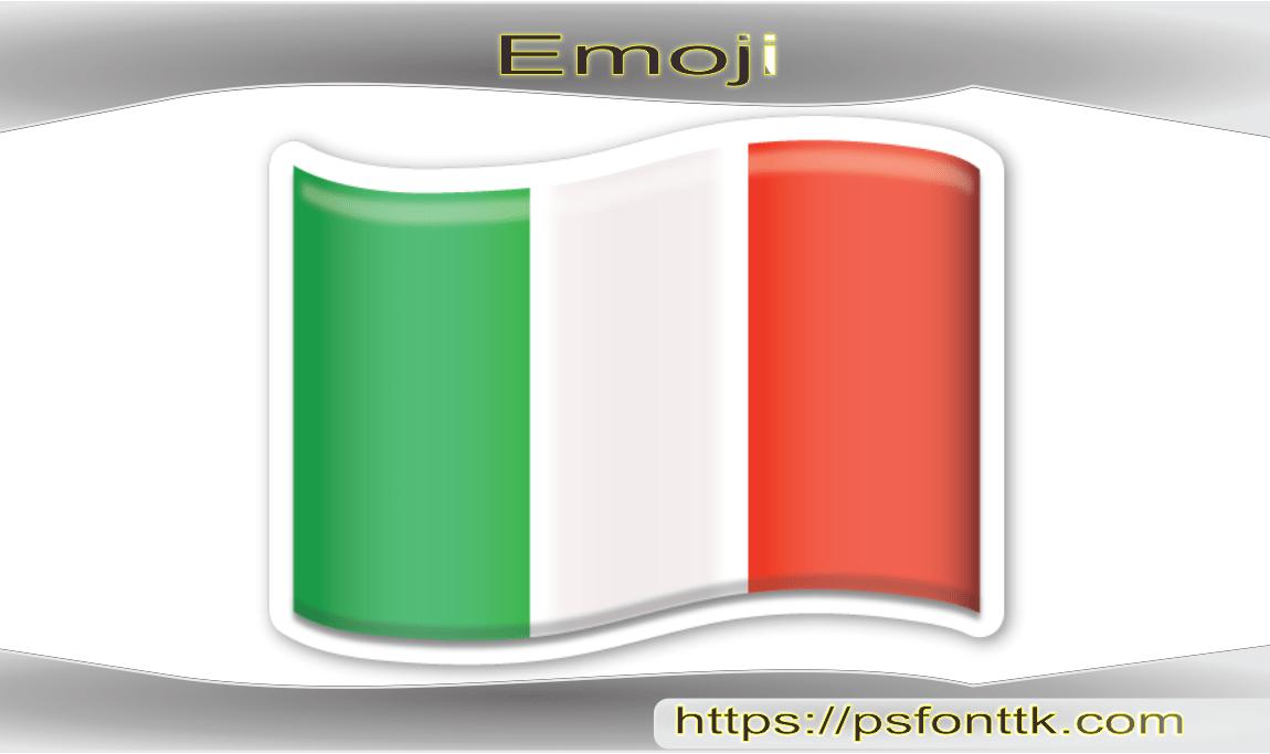 Bandeira da Itália emoji