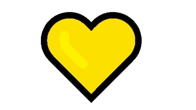Yellow Heart Emoji Meaning
