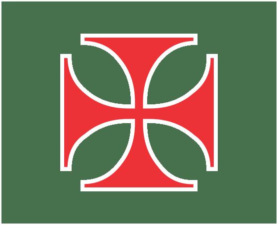 cruz de malta VERMELHA PNG Transparente para baixar