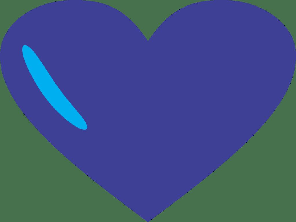 Blue Heart PNG
