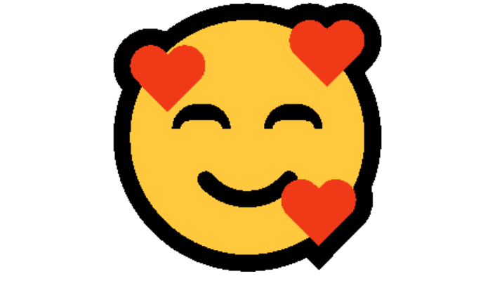 Smiling Face With 3 Hearts Emoji Copy and Paste
