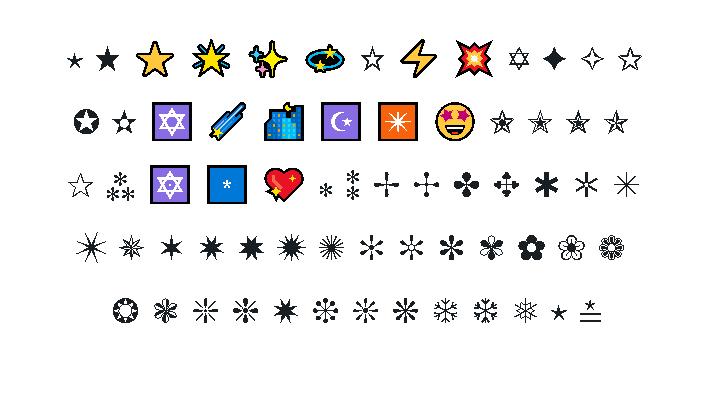 Star Emoji Copy and Paste