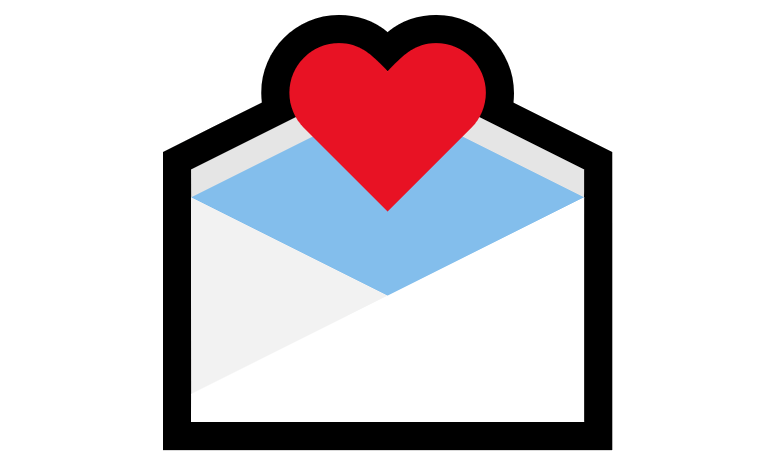 Coração Emoji PNG 💌
