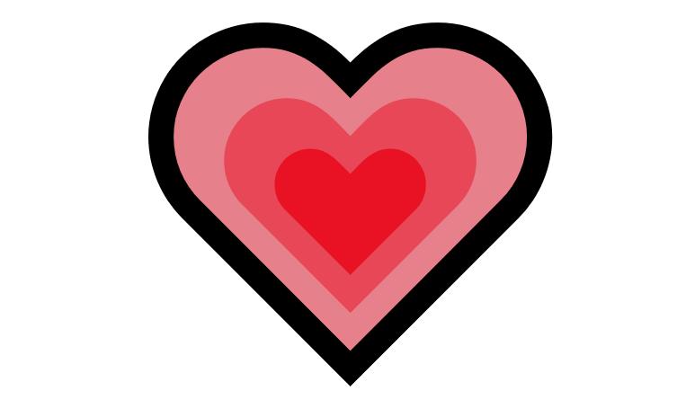 Coração Emoji PNG 💗
