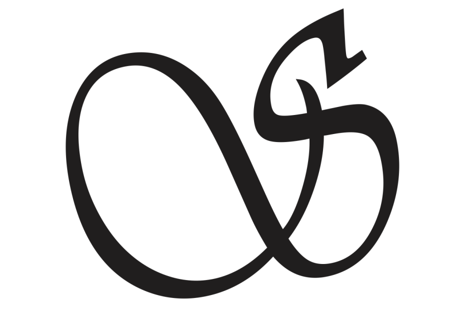 Cursive Capital S