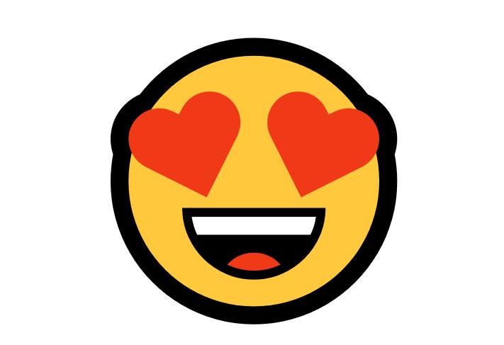 Emoji Apaixonado