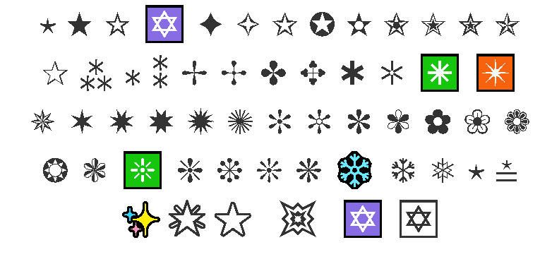 Emoji Estrela