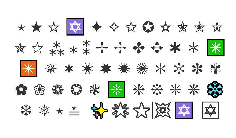 Emoji Estrella