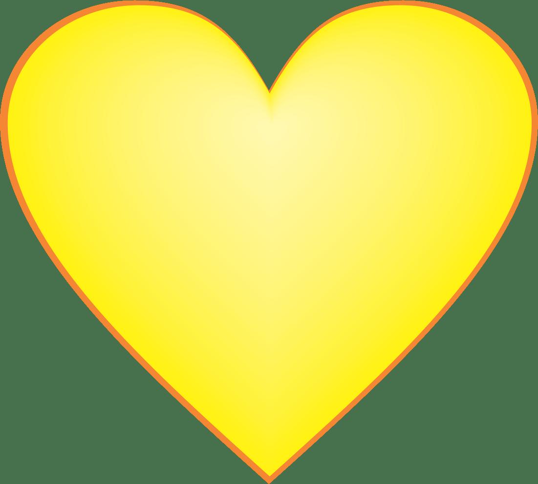 Yellow Heart Snapchat