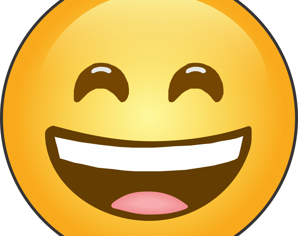 Grinning Face with Smiling Eyes