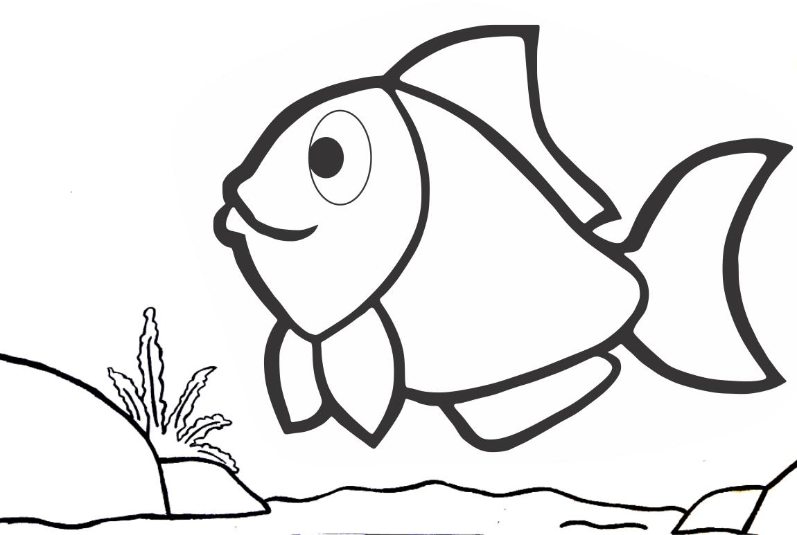 Peixe para Imprimir