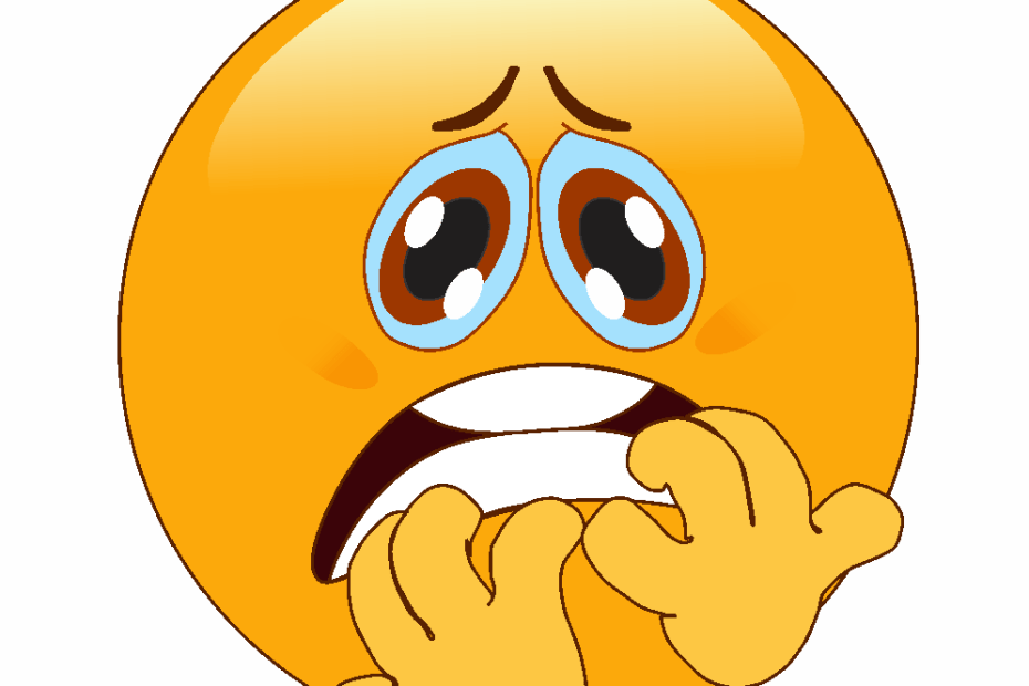 Emoji de Miedo, 😱