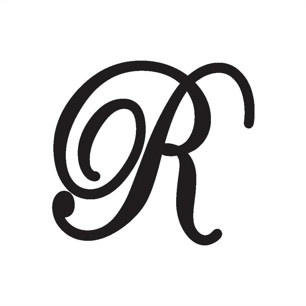 script capital r